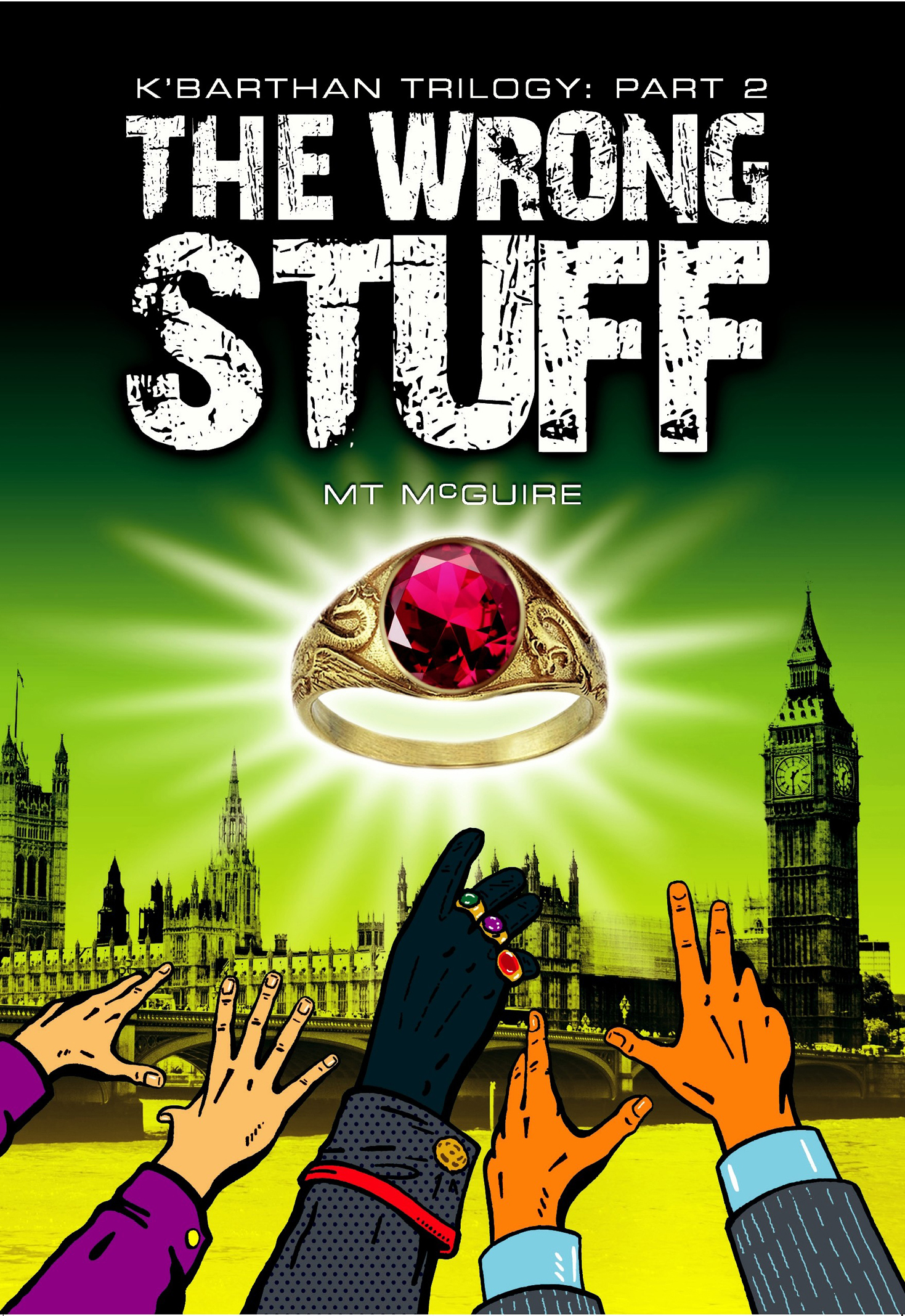 Front Cover of The Wrong Stuff, K'Barthan Trilogy: Part 2